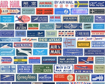 AIRMAIL Fine Art Travel Photography Print 11 x 14 Inches