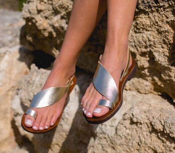 Sandales En Cuir Daphnae Anciens Sandales Grecques gAI9Iy