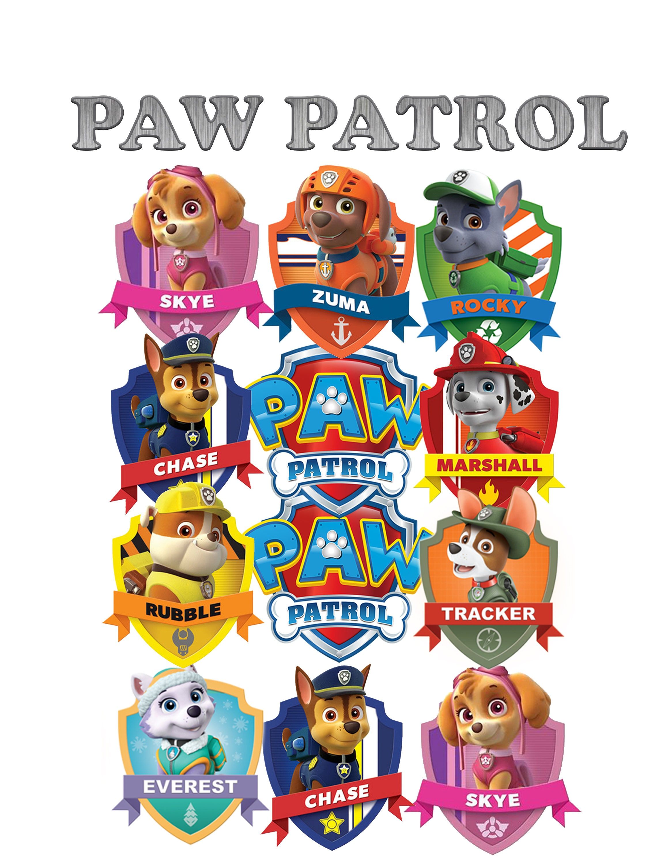 paw patrol bone cake instructions