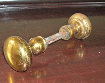Set of 3 Small Vintage Brass Door Knob Sets from WhatsInTheCrate on ...