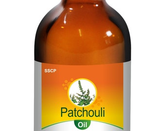 Patchouli Oil - Pure & Natural - 15 ML to 250 ML