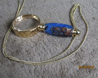 Mini necklace magnifing glass