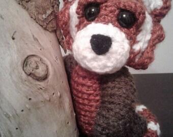 Red Panda Crochet Pattern