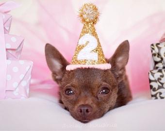 Dog Birthday Hat || Dog Party Hat || Dog Birthday Party Outfit || Animal Birthday Hat || Pet Birthday Hat || Dog Clothes