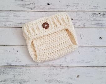 Crochet Diaper Cover, Diaper Covers, Baby Diaper Cover, Newborn Diaper Cover, Baby Bloomers, Cake Smash, Newborn Photo Prop, MADE TO ORDER