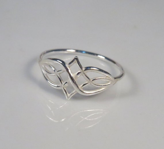 silver celtic knot ring sterling today s band rings shipping free watches mens men jewelry product