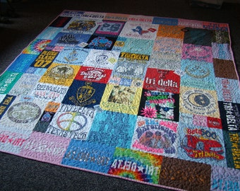 Custom T-shirt Memory Quilt - Full - No Money Down