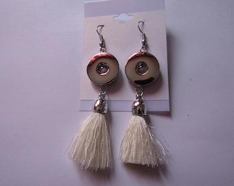 earrings for snap 18mm / 20mm
