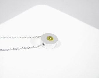 Contemporary Necklace – Contemporary Jewelry – Sphere Pendant