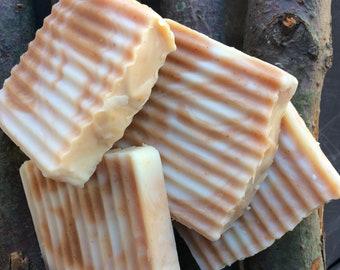 Orange Cream Handmade Soap