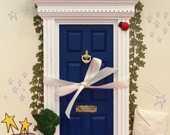 Blue Forest Magic Fairy Door