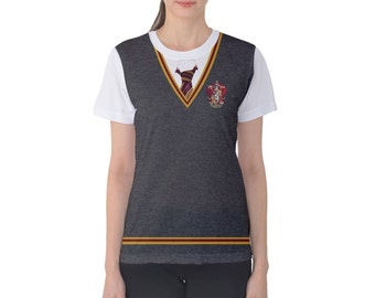 Women's Gryffindor Harry Potter Inspired Shirt
