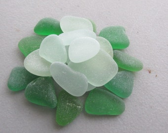 Beach Glass Jewelry Supply Lot - Genuine Sea Glass Surf Tumbled -  for Jewelry Art Mosaic