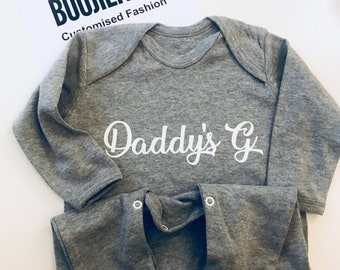 Daddy's G Rompersuit