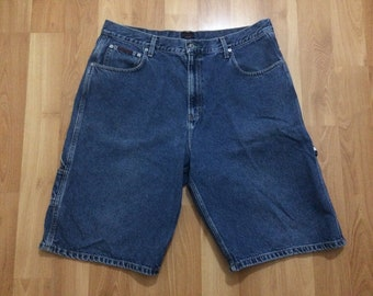 vintage men's sand washed denim carpenter shorts by Structure . . . . size extra large ocW0r