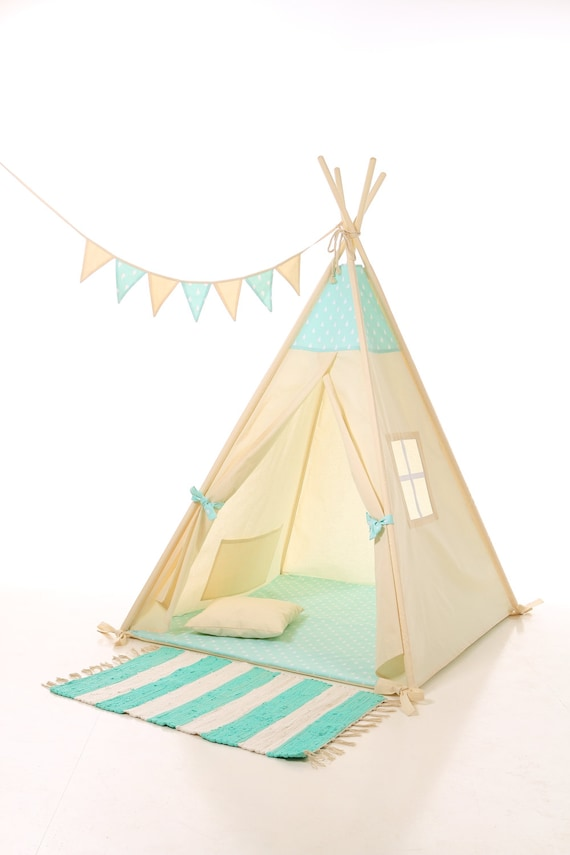 Kids teepee play tent wigwam childrenu0027s teepee tipi kids teepee tent play teepee high quality wigwam TIPI ENFANTS natural cotton tipi  sc 1 st  Etsy & Kids teepee play tent wigwam childrenu0027s teepee tipi