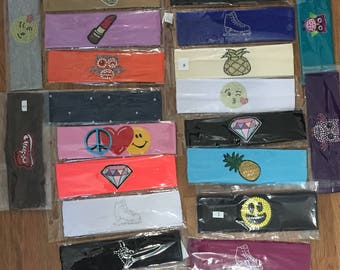 Headbands with Custom Design