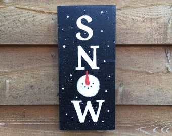 SNOW Wall Hanging