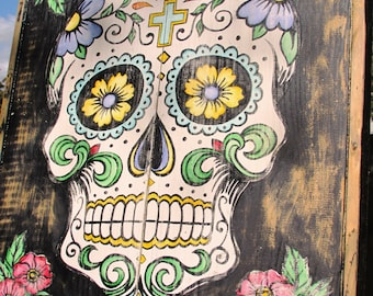 Dia de Los Muertos-Day of the Dead (Sugar Skull)