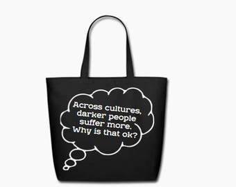 Food 4 Thought Canvas Tote