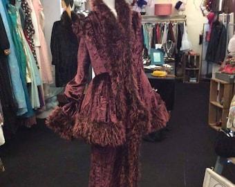 Replica Edwardian opera outfit made by Rosetti original. Size 10