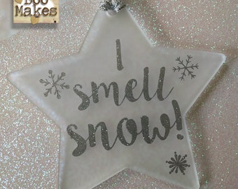 I Smell Snow! Star Decoration | Gilmore Girls star