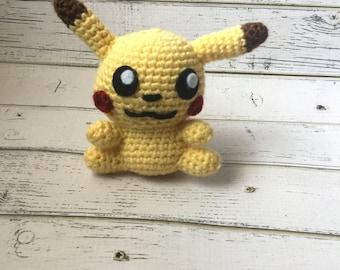 Crochet Pokemon | Pokemon plush | Pokemon go | pikachu plush | Pokemon amigurumi | Crochet pikachu | pikachu Plushie | pikachu amigurumi