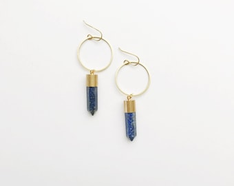 Blue Lapis Sisterhood Earrings