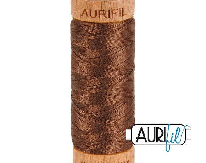 Aurifil 80wt -  Medium Bark 1285