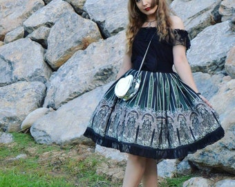 Skeleton Garden Skirt