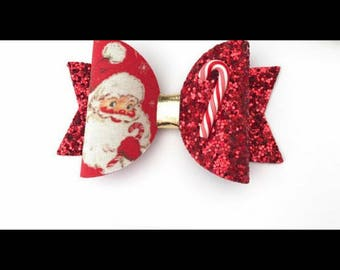 Father Christmas bows