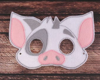 Pua Inspired Embroidered Mask