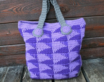 Crochet pattern, crochet bag pattern, crochet purse pattern 167, Instant Download