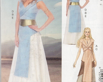 GAME of THRONES DAENERYS McCall's Costumes Pattern 6941 Misses Sizes 4 6 8 10 12