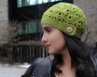 Canada Bliss Blithe - Fitted Crochet Knit Hat Beanie 32 Custom Colors