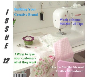 Handmadeology Magazine - Issue 12 - Etsy Success - Branding - Social Media