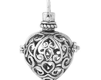 5PC Mexican Pendant Bola Openable Hollow Pregnant