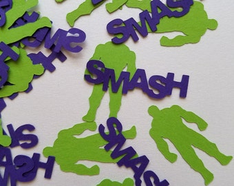 Handmade Hulk Confetti (Avengers)