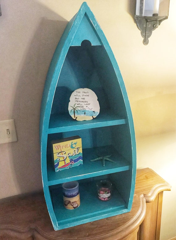 Custom Made Boat Shaped Cabinet by KnotInYourHouse