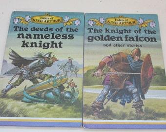Vintage Children's Books - Two Tales of King Arthur Books - Ladybird Books