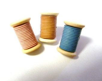 Earrings-Mix and Match Collection-Spools of Thread