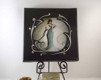 "Original painting ""Eauvie goddess"""