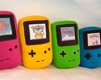 GameBoy Color Plush