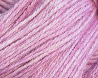 Hand Dyed Alpaka-Garn im Thistle - Finger Wt - 250 yds