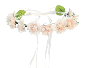 DaisyandLeo Peach Flower Crown