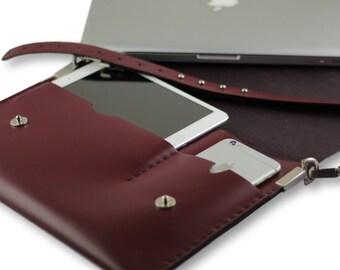 Leather laptop bag/Laptop bag women/macbook pro bag/macbook air bag/macbook pro 13 case/shoulder bag/macbook case/business bag/laptop bags