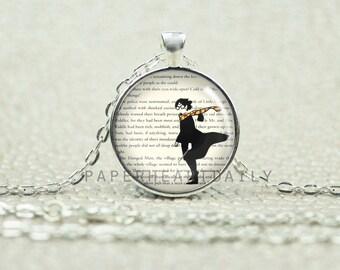 Harry Potter Necklace - Fandom Gift - Gift for Potterhead - Harry Potter Pendant - JK Rowlings - Teen Necklace -   (B1946)