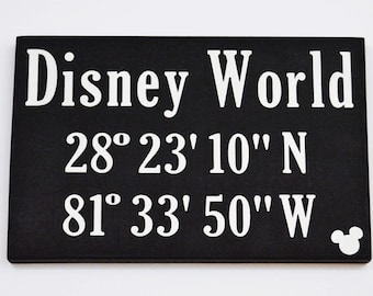 Disney World Coordinates   The Happiest Place on Earth   Disney Inspired   Gallery Wall   Happy Place