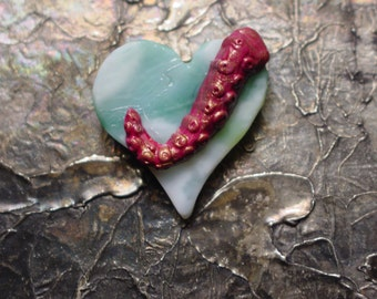 Tentacle Heart Pin