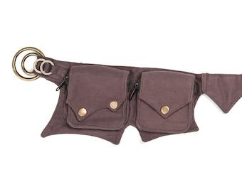 Canvas Goa Belt, (bum Bag, Hipbag, Pocket Belt, Belt Pouch, Waist Bag, Waist Pouch, Waist Purse, Waist Pack, Vegan Bag, Fanny Bag, Belt Bag)